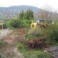 Kitermelt föld a kerti tó feltöltésére és a kert alsó területén kerül deponálásra.