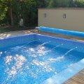 Úszómedence júniusi beüzemelése
