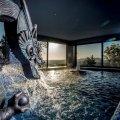 Bronz sárkány vízköpő